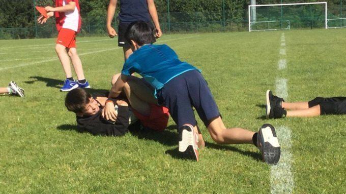 Initiation au rugby niveau 6ème